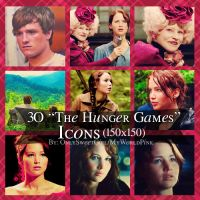 3O The Hunger Games Icons by OnlySweetGirl