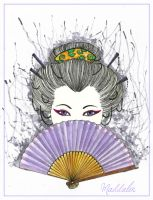 Geisha Maddalen for Mania by Lady-Oolong