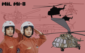 Mil MI-8 wallpaper 1440x900 by Pasteljam