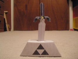 master sword papercraft by pancakes-D