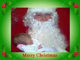 Santa and Baby 2 by Aladriel