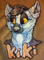 Henrieke badge commission by nightspiritwing