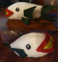 Joker Fish Plush by IrashiRyuu
