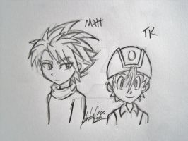 Matt and TK Request by DreagonArchives