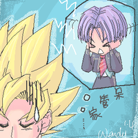 kaka and trunks by kotenka1984