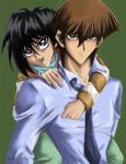 The Kaiba Brothers by starlightmagician