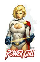 Power Girl by spidermanfan2099