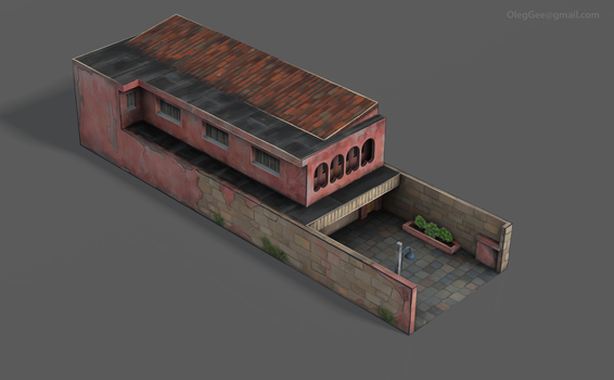 GAME SET01--house+garage 013 roof by z-Gen