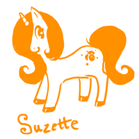 MLP Suzette by sweet-pea-soup