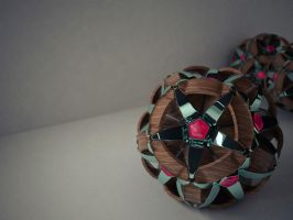 Dodecahedron: Flower lamp by thiagoesp