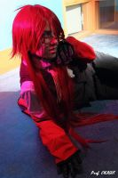 Grell Sutcliff 'Let's do this one more time !' by Hirako-f-w