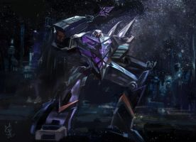 MEGATRON -TF Fall of Cybertron by agathexu