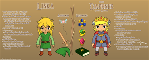 The Legend of Zelda OCs by oOLuccianaOo