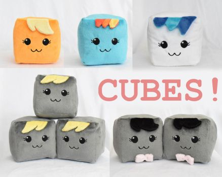 Companion Cubes! by SnuggleFactory