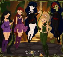 DC Heroines by k2pony