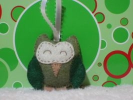 Owl Ornament by AmyCook