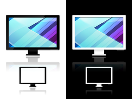 LCD Icons by salmanarif