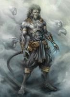 Hanuman by tigerboy by Tigerboy-group