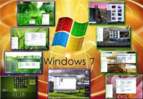 9 Nature Themes- For Windows 7 by 512Mbyte