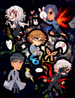Stickers - Tokyo Ghoul by elefluff