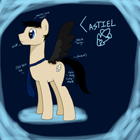 Castiel The Pony of the Lord by LittleJibber