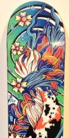 Koi Skate Deck by ShoeJunkiez
