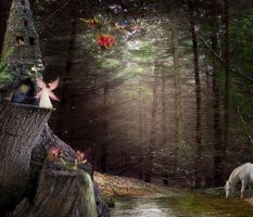 Fairy forest by Punkybrewster80