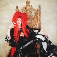 hide cosplay: NHK kohaku live I by cinq-pathetique