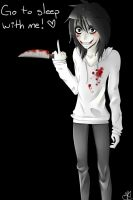 Jeff the Killer Fanart + Speedpaint by ShimmerPop