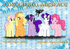 My Little Pony portada 2 by reina-del-caos