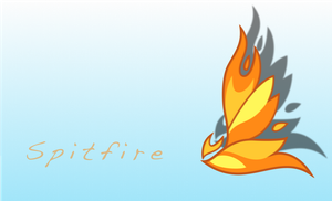 Spitfire Cutie mark Wallpaper by sqarishoctagon