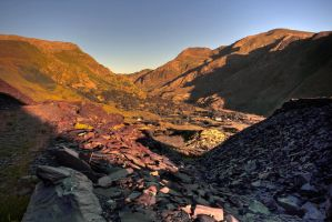 Red mountain by CharmingPhotography