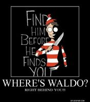 Do You REALLY Want To Find Waldo? by Chaosfive-55
