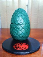 Dragon egg by JessicaGuia