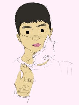 The Dead Eyes of Do Kyungsoo by Dragonscalez