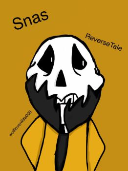 Snas from ReverseTale  by wolflover4life008