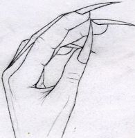 Teh Creepeh Hand by ChaoticInsanity13