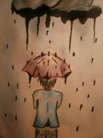 raindrops by FlameAlive