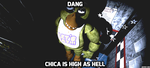 Chica is stoned by kinginbros2011