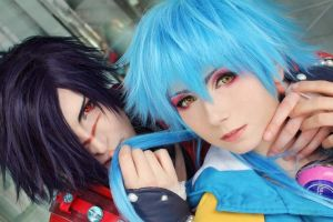 Dramatical Murder - Koujaku and Aoba 2 by Etienne-Magique