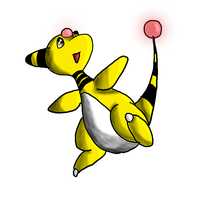 Ampharos by teamrocketavenger