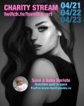 Charity stream for baby Nariste by Tsvetka