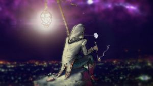 The Hermit by mapocho