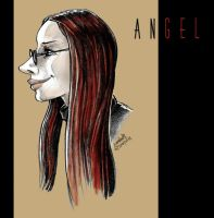 angela caricature by efdemon