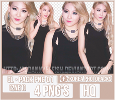 CL (2NE1) - PACK PNG#01 by JeffvinyTwilight