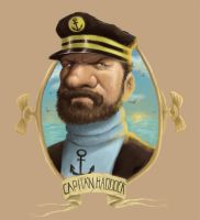 Capitan Haddock by Parpa
