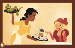 Tiana in Duke's Dinner by Laurine-Tellier