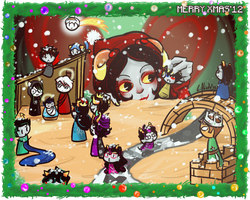 Merry Xmas'12 by Erina-chan