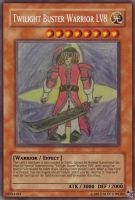 Twilight Buster Warrior LV8 card by A5L