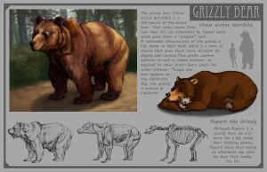 Grizzly Bear by Phee